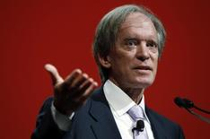 Bill Gross, co-founder and co-chief investment officer of Pacific Investment Management Company (PIMCO), speaks at the Morningstar Investment Conference in Chicago, Illinois, in this file photo taken June 19, 2014.  REUTERS/Jim Young/Files
