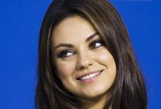 "Cast member Mila Kunis speaks during the ""Third Person"" news conference at the 38th Toronto International Film Festival in Toronto, September 10, 2013. REUTERS/Mark Blinch"