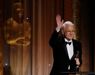 Actor Steve Martin accepts an Honorary Award at the 5th Annual Academy of Motion Picture Arts and Sciences Governors Awards at The Ray Dolby Ballroom in Hollywood, California November 16, 2013.  REUTERS/Mario Anzuoni