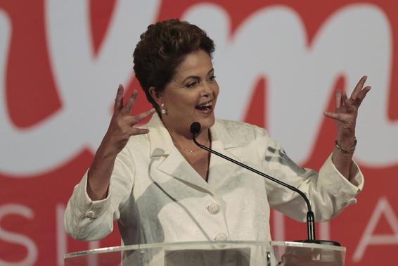 Brazil's Rousseff to face pro-business Neves in election runoff