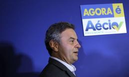 Candidato do PSDB à Presidência, Aécio Neves. REUTERS/Nacho Doce (BRAZIL - Tags: POLITICS ELECTIONS)