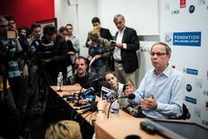 Economista francês Jean Tirole durante entrevista coletiva em Toulouse. 13/10/2014 REUTERS/Fred Lancelot
