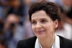 A atriz francesa Juliette Binoche durante Festival de Cinema de Cannes, na França, em maio. 23/05/2014 REUTERS/Benoit Tessier