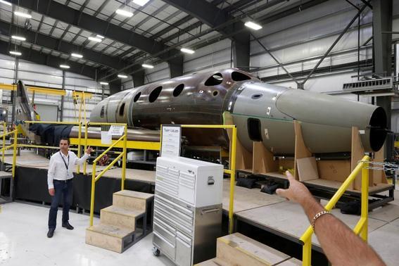 New spaceship restoring hope after Virgin Galactic crash | Reuters