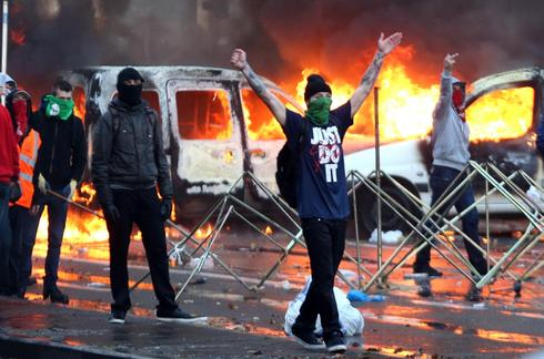 Clashes in Brussels
