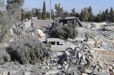 U.S. strikes in Syria