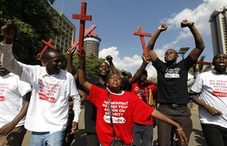 Kenya's #OccupyHarambeeAve