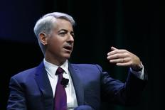 William Ackman speaks to the audience   in New York, July 22, 2014. REUTERS/Eduardo Munoz