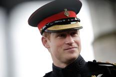 Príncipe Harry, da Grã-Bretanha, durante evento em Westminster Abbey, no centro de Londres, no mês passado. 06/11/2014 REUTERS/Pool/Matthew Lloyd