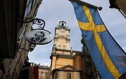 The Stockholm Cathedral is seen in Gamla Stan or the Old Town district of Stockholm in this June 9, 2010 file photo.  REUTERS/Bob Strong/Files