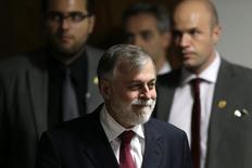 Ex-diretor da Petrobras Paulo Roberto Costa durante depoimento em CPI em Brasília. 02/12/2014 REUTERS/Ueslei Marcelino