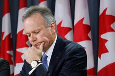 Bank of Canada Governor Stephen Poloz takes part in a news conference upon the release of the Financial System Review in Ottawa June 12, 2014. REUTERS/Chris Wattie