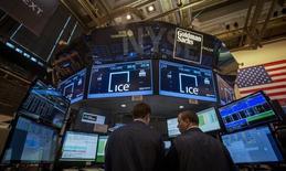 Intercontinental Exchange (ICE) va vendre environ 4,2 millions d'actions Euronext, représentant 6% du capital de l'opérateur boursier, dans le cadre d'une procédure de placement accéléré auprès d'investisseurs institutionnels. /Photo d'archives/REUTERS/Brendan McDermid