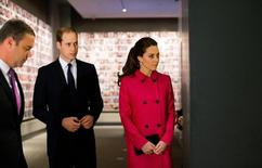 Príncipe William e sua mulher, Kate, visitam museu e memorial do 11 de Setembro em Nova York.  09/12/2014.  REUTERS/Doug Mills/Divulgação