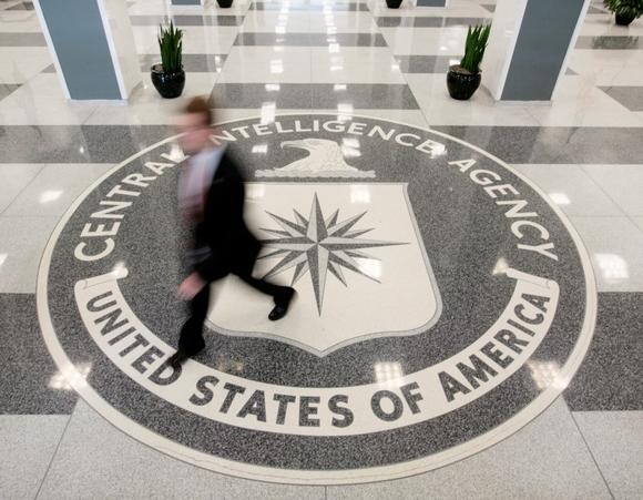 The lobby of the CIA Headquarters Building in McLean, Virginia, August 14, 2008. REUTERS/Larry Downing/Files