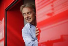 Ferrari president Luca di Montezemolo is pictured during the third practice session of the Italian F1 Grand Prix at the Monza circuit September 7, 2013. REUTERS/Max Rossi