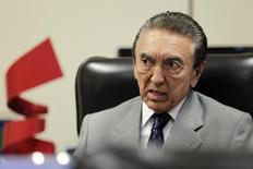 Ministro de Minas e Energia, Edison Lobão. REUTERS/Ueslei Marcelino (BRAZIL - Tags: POLITICS BUSINESS ENERGY) - RTR3CHK7