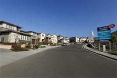 Rua de casas à venda em San Marcos, na Califórnia. REUTERS/Mike Blake