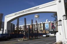 Entrada da Sony Pictures em Culver City, Califórnia. 19/12/2014.  REUTERS/Mario Anzuoni