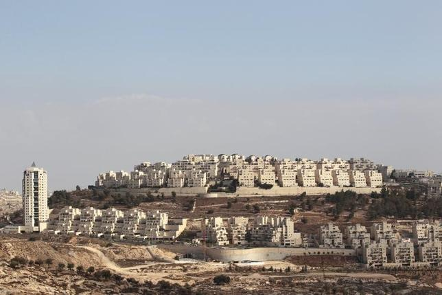 A general view shows a Jewish settlement near Jerusalem known to Israelis as Har Homa and to Palestinians as Jabal Abu Ghneim November 13, 2013. REUTERS/Ammar Awad