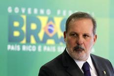 Novo ministro do Desenvolvimento, Indústria e Comercio Exterior, Armando Monteiro, durante coletiva de imprensa em Brasília. 1/12/2014. REUTERS/Ueslei Marcelino