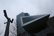 Sede do Banco Central Europeu em Frankfurt. REUTERS/Kai Pfaffenbach (GERMANY  - Tags: BUSINESS)