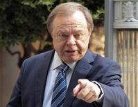 Harold Hamm, founder and CEO of Continental Resources, enters the courthouse for divorce proceedings with then wife Sue Ann Hamm in Oklahoma City, Oklahoma, in this September 22, 2014 file photo. REUTERS/Steve Sisney/Files