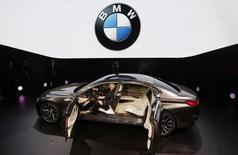 A BMW Vision Future Luxury concept car is displayed during its world premiere ceremony at Auto China 2014 in Beijing April 20, 2014.  REUTERS/Jason Lee