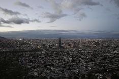 Vista general de la ciudad de Monterrey. Imagen de archivo, 6 junio, 2014. La actividad industrial de México, cuya economía atraviesa una fase de débil crecimiento, subió un 0.23 por ciento en noviembre respecto al mes previo, en su menor expansión desde septiembre, reporto el viernes el instituto de estadísticas. REUTERS/Daniel Becerril