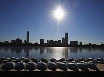 Vista general de Boston en Cambridge. Imagen de archivo, 8 enero, 2015.  Los precios al productor de Estados Unidos registraron en diciembre su mayor caída en más de tres años por el desplome de los costos energéticos, mientras que las presiones inflacionarias subyacentes continuaron apagadas.   REUTERS/Brian Snyder