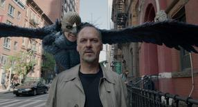 "Michael Keaton, playing ""Riggan,"" is seen in a scene in Birdman. REUTERS/Fox Searchlight Pictures/Handout"