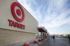 A view of a Target store in Lindsay, Ontario January 15, 2015. REUTERS/Fred Thornhill