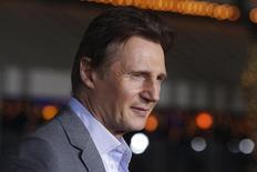Ator irlandês Liam Neeson participa de evento em Los Angeles, nos Estados Unidos, em fevereiro. 24/02/2014 REUTERS/Fred Prouser