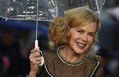 Atrriz australiana Nicole Kidman durante evento de lançamento de filme em Londres. 23/11/2014 REUTERS/Toby Melville