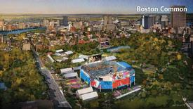 The proposed beach volleyball venue on Boston Common is seen in this handout image made available January 21, 2015 by the Boston2024 group, which is organizing Boston's bid to host the 2024 Summer Olympics. REUTERS/Boston2024/Handout via Reuters