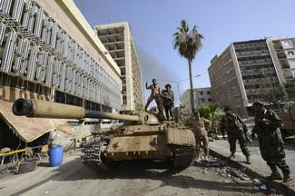 Clashes in Benghazi