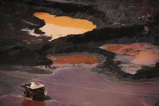 Vista geral da mina de ferro Carajas, no Pará. 29/05/2012 REUTERS/Lunae Parracho