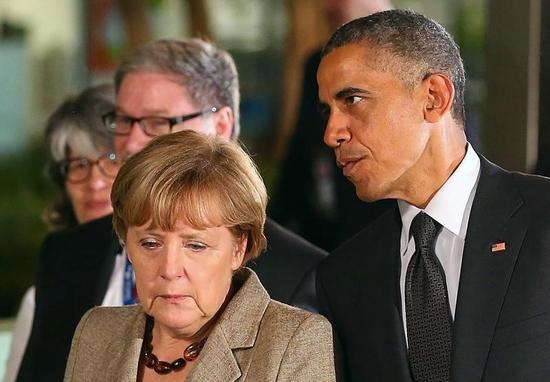 米独首脳が電話会談、ウクライナ情勢でロシアへの懸念を表明