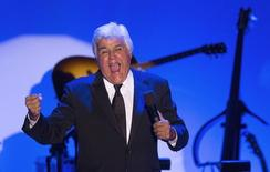 Comedian Jay Leno hosts the 2014 Carousel of Hope Ball at the Beverly Hilton Hotel in Beverly Hills, California October 11, 2014.   REUTERS/Mario Anzuoni