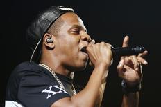 Jay-Z em show em Paris. 17/10/2013 REUTERS/Benoit Tessier