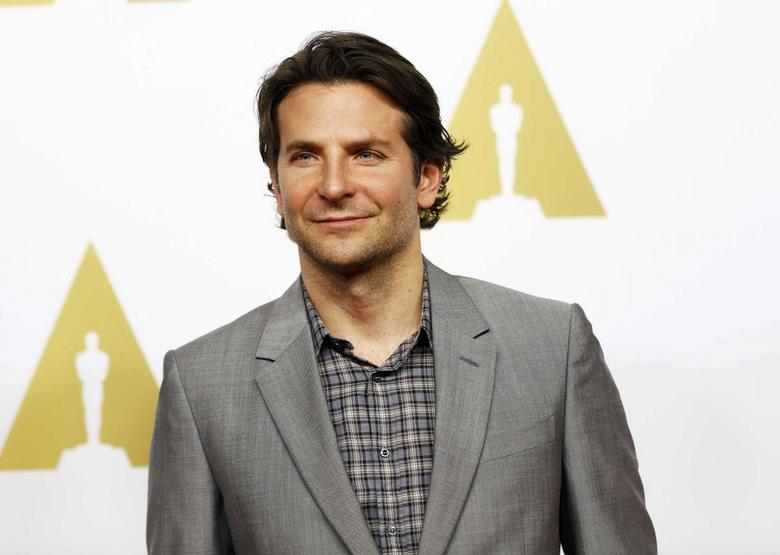 Bradley Cooper, best actor nominee for his role in ''American Sniper'', arrives at the 87th Academy Awards nominees luncheon in Beverly Hills, California February 2, 2015.  REUTERS/Mario Anzuoni