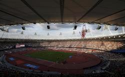 Vinci a  remporté le contrat de concession du stade du Queen Elizabeth Olympic Park de Londres, construit pour les JO d'été de 2012 et actuellement en cours de transformation. /Photo d'archives/REUTERS/Andrew Winning