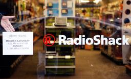 A Radio Shack store is seen in Cambridge, Massachusetts in this file photo from April 28, 2008. REUTERS/Brian Snyder/Files