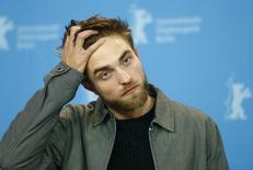 "Ator Robert Pattinson durante Festival de Berlim para promover o filme ""Life"". REUTERS/Hannibal Hanschke"
