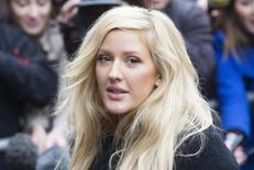 British singer Ellie Goulding arrives for the recording of the Band Aid 30 charity single in west London November 15, 2014.  REUTERS/Neil Hall
