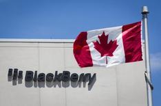 La sede de BlackBerry en Waterloo, Canadá, jun 19 2014. BlackBerry Ltd anunció el lunes que planea ofrecer una versión en la nube de su plataforma de gestión de dispositivos móviles BES12, una decisión que hará el servicio más accesible a pequeñas y medianas empresas que necesitan la seguridad de aparatos en sus propias redes. REUTERS/Mark Blinch