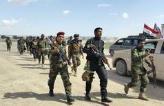 Forças iraquianas no norte de Bagdá, durante ofensiva para retomar a cidade de Tikrit. 02/03/2015 REUTERS/Stringer