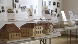 Models of synagogues are displayed in the Ghetto museum in Riga February 27, 2015. REUTERS/Ints Kalnins