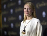 """Cate Blanchett em lançamento do filme """"Cinderella"""". 01/03/2015. REUTERS/Mario Anzuoni"""
