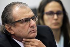 Ex-gerente da Petrobras Pedro Barusco na CPI em Brasília. 10/3/2015 REUTERS/Ueslei Marcelino